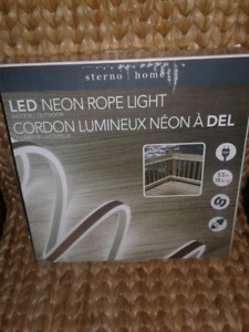 LED Rope light.