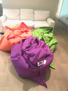 BEAN BAG CHAIR - BY SITTING BULL - ONLY THE PURPLE ONE REMAINS