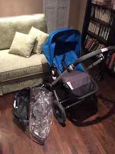 Bogaboo Cameleon stroller/poussette et bassinet et accessories