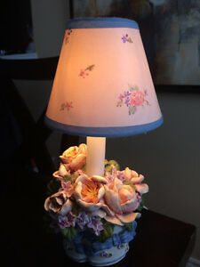 Cute lamp and storage box