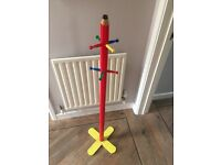 Lovely Pencil Design Children's Coat Stand