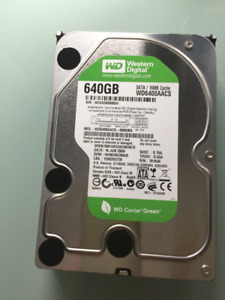 Disque dur interne 640 Gb
