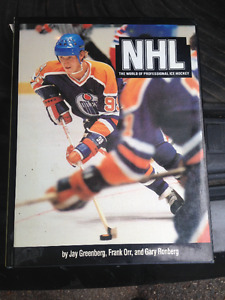 "VINTAGE 1981 BOOK ""NHL THE WORLD OF PROFESSIONAL ICE HOCKEY"""