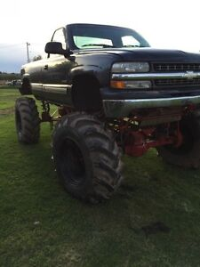 2002 Chevy mega truck with or without motor
