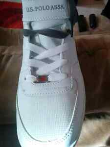 U.S polo shoes  new never worm size 10