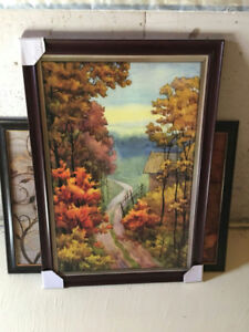 Paint with Frame - $10