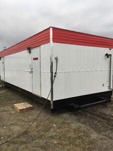 12x32 Male/Female Skidded Washcar