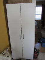 Wardrobe style shelf and Dressers various sizes and prices