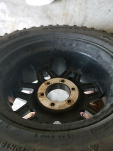 Tires and rims LT27570R18