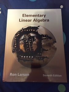 Elementary Linear Algebra 7th Edition Ron Larson West Island Greater Montréal image 1
