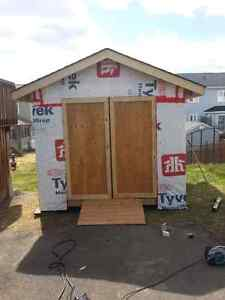 """Brand new shed 10"""" x 12"""" with 7 1/2 foot ceilings. $1700 obo"""