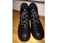 Steel toecap boots