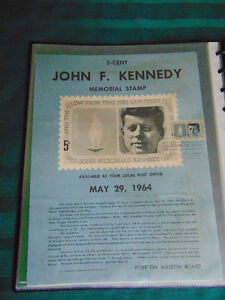 United States First Day of Issue Stamps , 1963-1966 London Ontario image 10