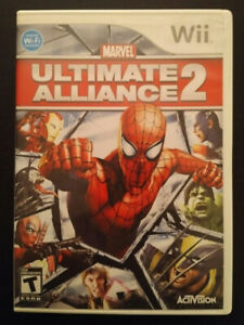 Nintendo Wii Marvel Ultimate Alliance 2