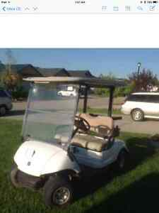 2007 Yamaha gas golf cart