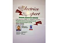 Electrician. Registered Part P. No travel charges in listed areas . Free quotes