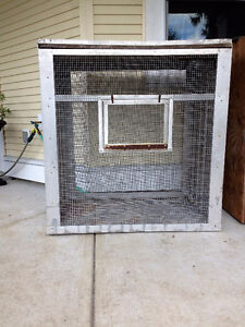 Large Cages for all sorts of animals - 1 Aluminium 1 – Wood