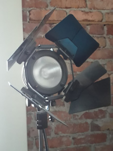 Projecteur et support ajustable pour photographe