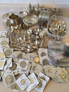 CASH $$ COINS $$ STERLING SILVER $$ GOLD $$ JEWELRY $$ CASH