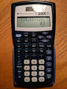 Texas Instruments TI-30X IIS 2-Line Scientific Calculator