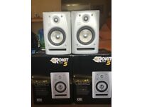 KRK Rokit 5 Limited Edition Pearl White Immaculate Condition