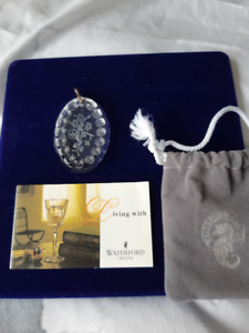"BNWT, ""Waterford Crystal Pendant"""
