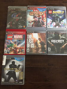 PS3 games $15 each