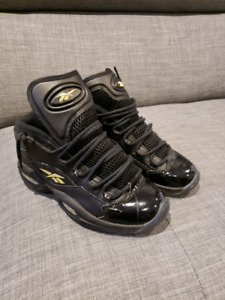 Reebok Question Mid Black Gold