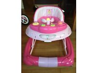 Baby Walker and rocker with music