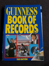 Guinness book of records 1981