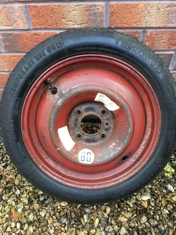 Peugeot 206 space saving wheel