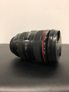 Canon EF 24-105mm f/4.0L IS USM Zoom Lens Excellent Condition