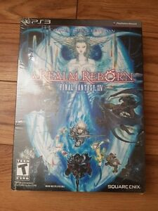 collectors edition ps3 version ff14 real reborn (brand new )