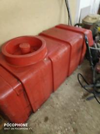 Water tank for window cleaning van