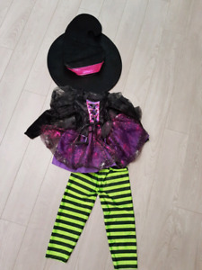 A witch halloween costume