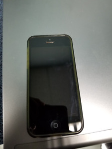 Used iPhone 5C with case, unlocked