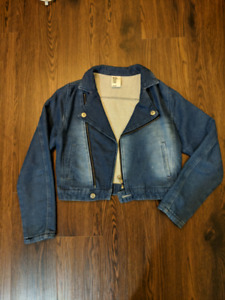 Cropped Denim Jacket H&M