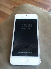 iPhone 5 16gb on O2/giffgaff/tesco