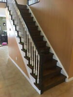 Hardwood Stair Installation