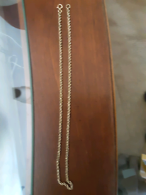 """9ct Gold Rope Chain / Necklace 16"""""""