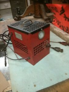 antique valcan battery charger