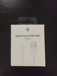 GENUINE OEM APPLE USB DATA CABLE WIRE CHARGER FOR IPHONE IPAD Regina Regina Area image 3
