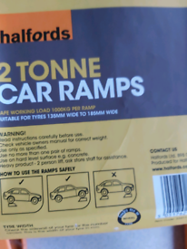 Halfords 2 ton car ramps