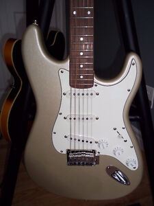 Standard fender Squier 2002 with 20th anniversary plate on back