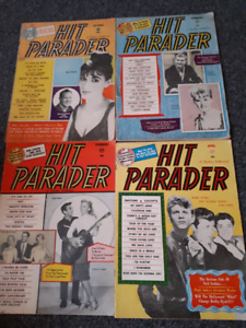 hit parader magazines from 60s