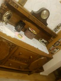 Wooden Antique Welsh Dresser
