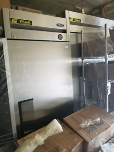 New True Stainless Fridge, freezer and 2 Pizza Ovens