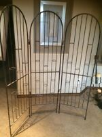 Wrought Iron votive candle screen