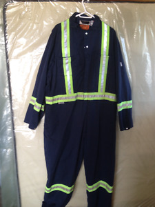 Shop Coverall with Reflective Accents