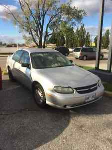 2003 Chevrolet Malibu Selling As Is